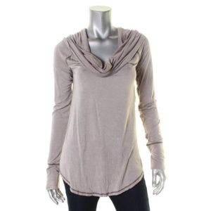 Free People Cosmo cowl long sleeve top size xs.